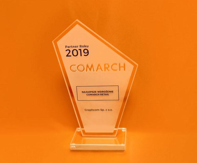 Graphcom Partner Comarch - Partner Roku 2019