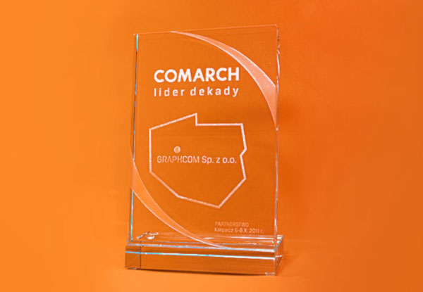 Graphcom lider dekady - Partner Comarch